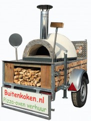 Mobiele  Pizzaoven (Forno 1)