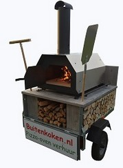 Mobiele  Pizzaoven (Forno 3)